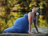 Zwangere vrouw met overgewicht